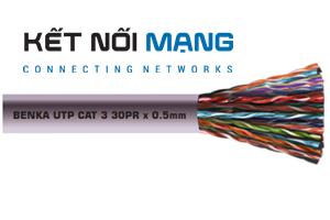 313 10205 Benka UTP Telephone Cable, 10x2x0,5mm (10 pairs)